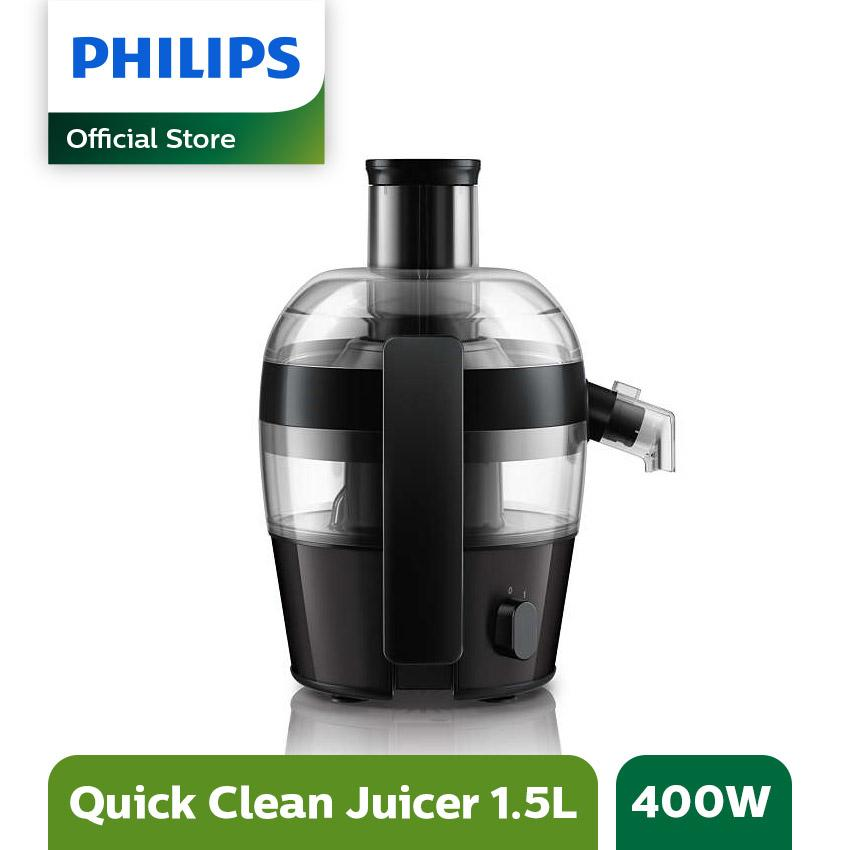 Philips HR 1832 Juicer - Hitam