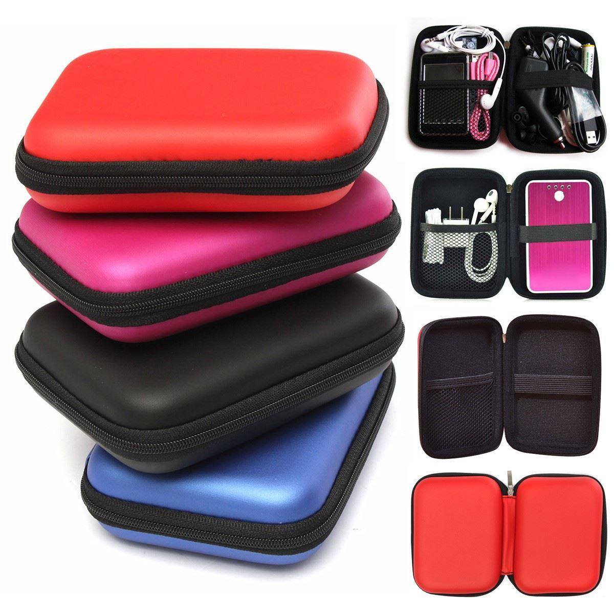 Special Promo!! Case harddisk Hard Case Shockproof Tas Hardisk / Powerbank  Softcase Tahan Banting for External HDD 2.5 inch Pouch Bag Flash Sale