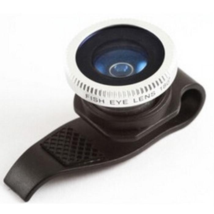 Promo OlloClip Lesung Clip Filter Fisheye Lens Lensa No 7 HP iPhone Android