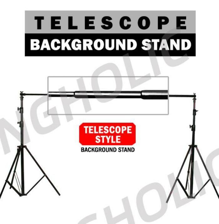 Best Seller!! Stand Backgroun Foto Studio Qihe Qh-J280T - ready stock