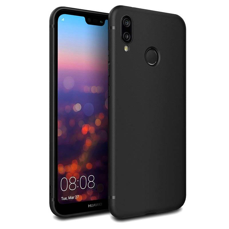 Solid TPU Soft Case Casing for Huawei P20 Lite