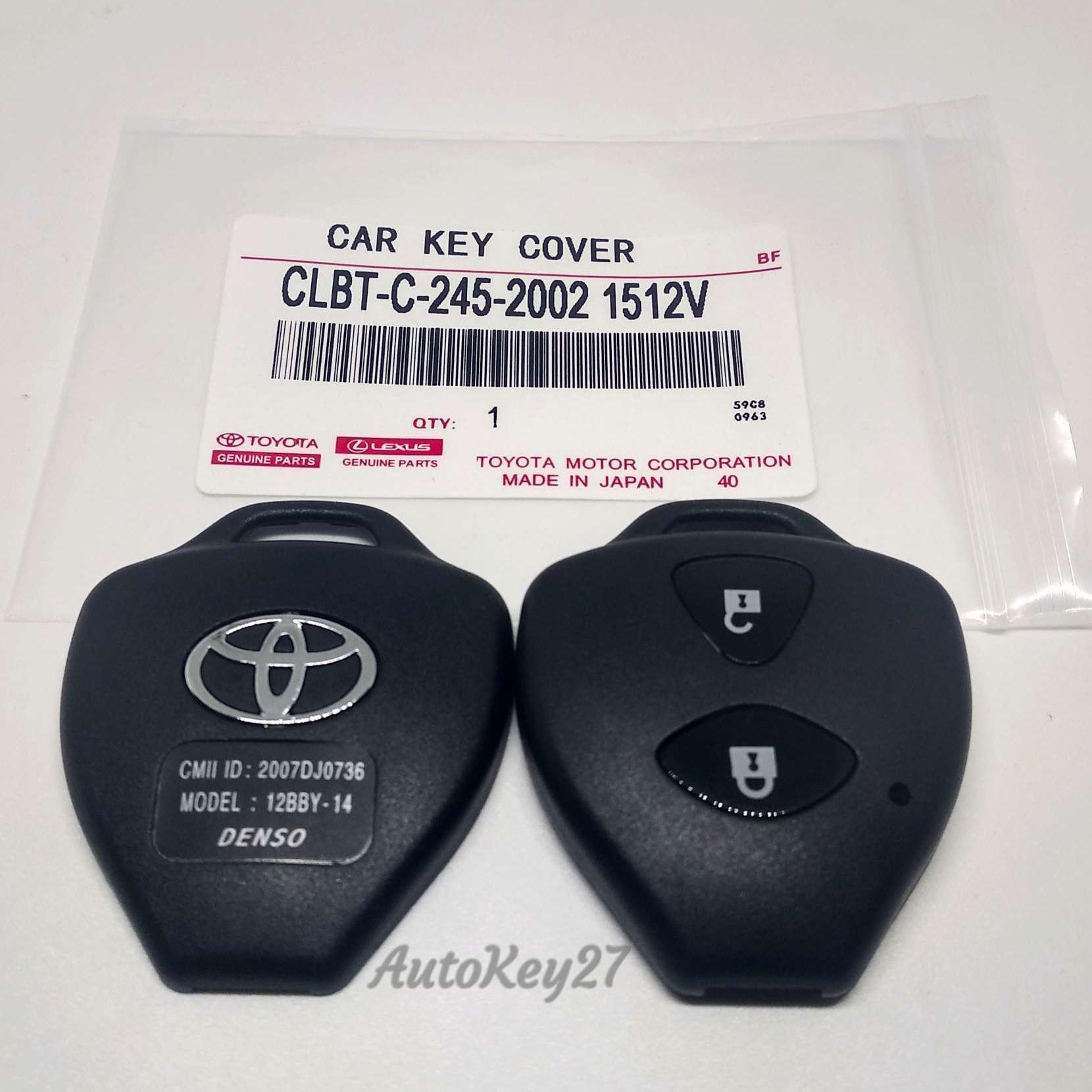 Buy Sell Cheapest Mobil Casing Kunci Best Quality Product Deals Lipat Filp Key Toyota Innova Fortuner Vios Altis 3 Tombol Rumah Yaris 2 Oem