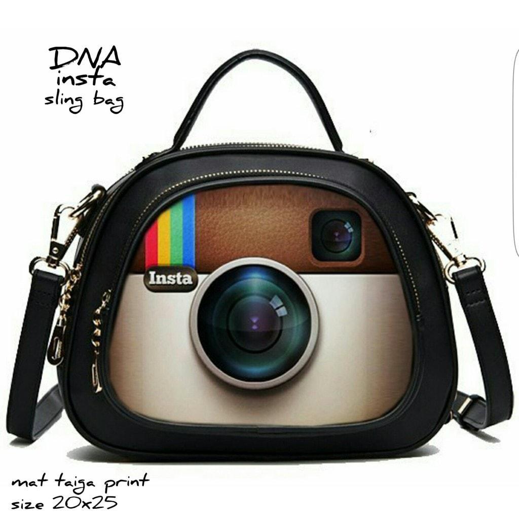 Jual Termurah Tas Slingbag / Tas Handbag Murah / Tas Gaul Motif Instagram Promo