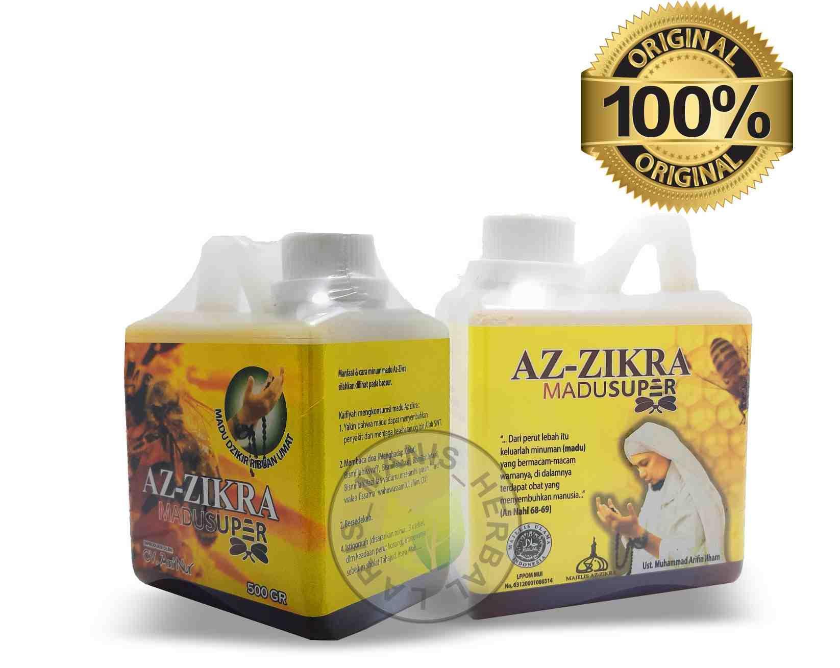 Buy Sell Cheapest Madu Super Azzikra Best Quality Product Deals Az Zikra 500 Gram Aseli Original Ustadz Arifin Ilham