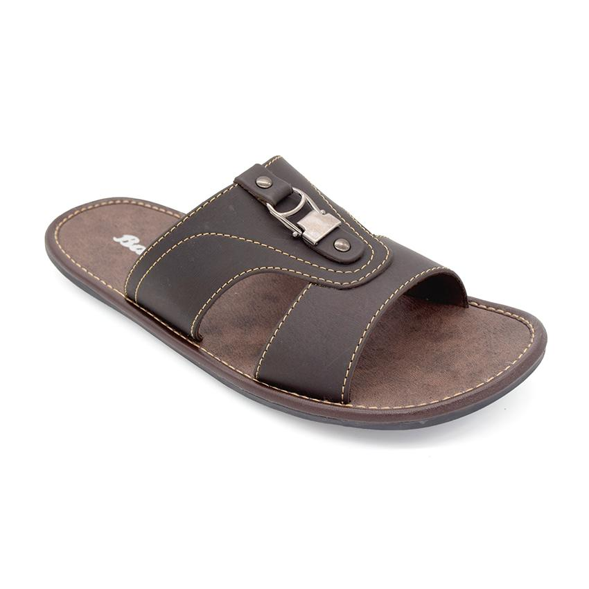 BATA Sandal Pria PRESS BROWN 8714671