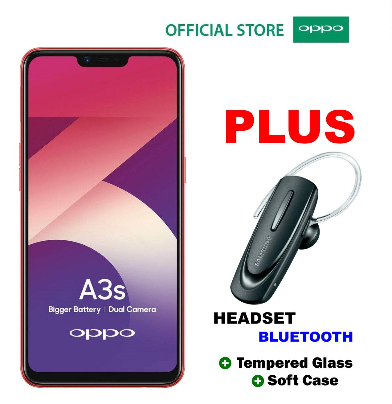 Oppo A3S 332GB Plus Headset…