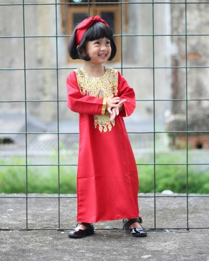 Kaftan Bayi Zahira Red S - 08X303