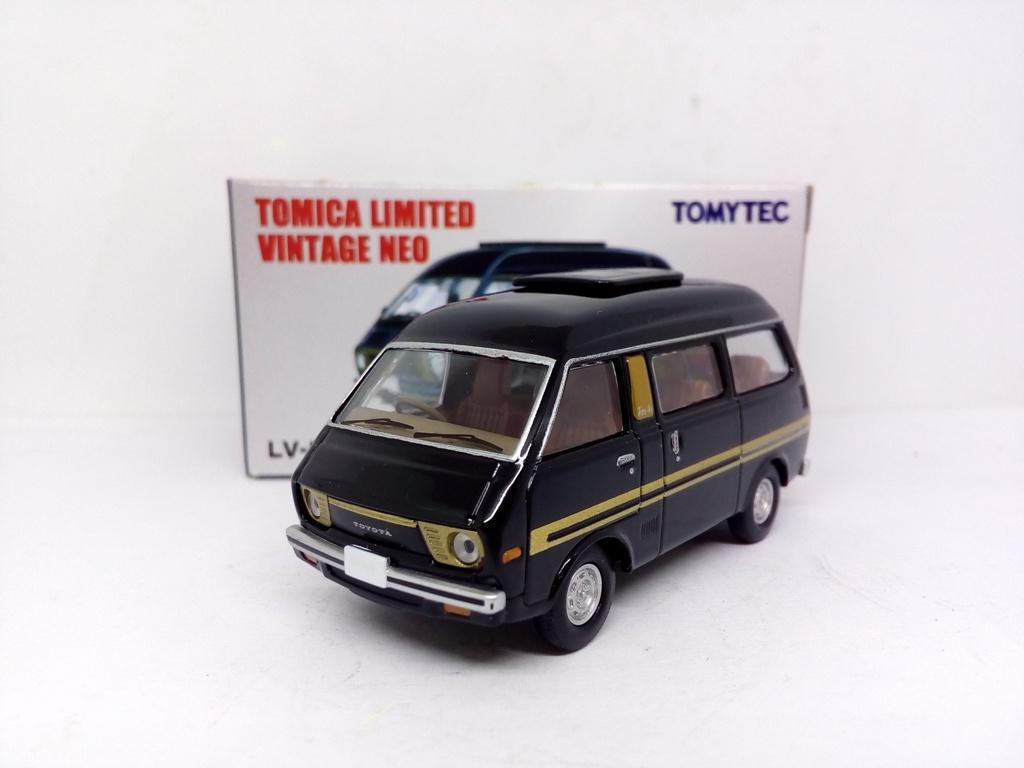 TOMYTEC TOMICA LIMITED VINTAGE NEO LV-N99 Toyota TOWNACE WAGON Black
