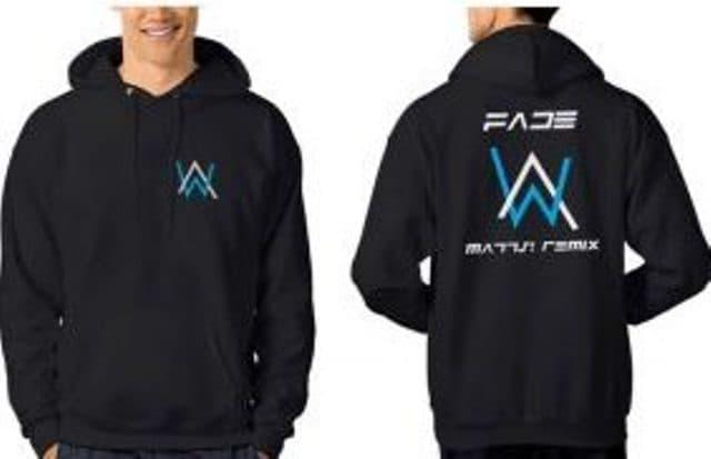 ASLI!!! switer alan walker,jaket,hoodie alan walker hitam - u2PLru