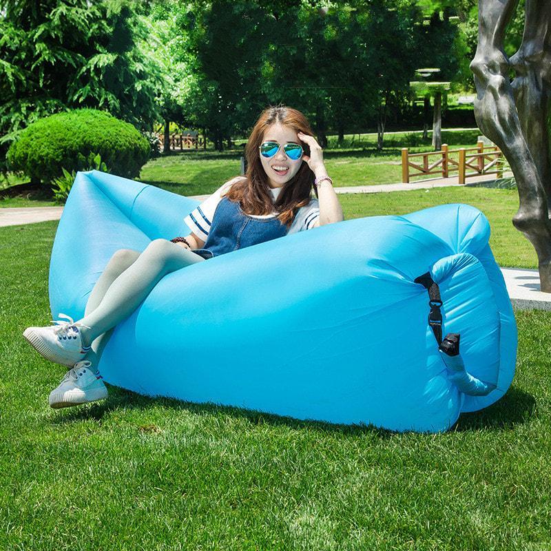 PROMO!!  LazyBag Lazy Bag Kasur Angin Sofa Kasur Kursi Angin Air Lay Bed Lamza MURAH / DISKON