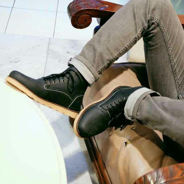 B A E WEAH Brodo Sepatu Boots kulit Pria Dan Wanita Kulit Asli - Sepatu Boots Pria - Sepatu Boots Tinggi
