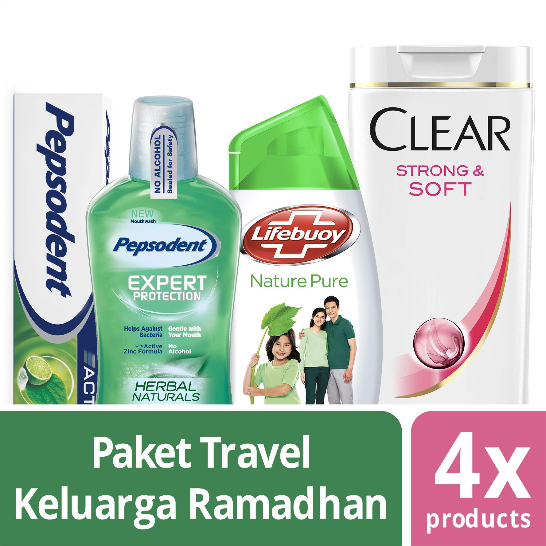 Paket Ramadan Travel Keluarga dari Pepsodent Lifebuoy & Clear