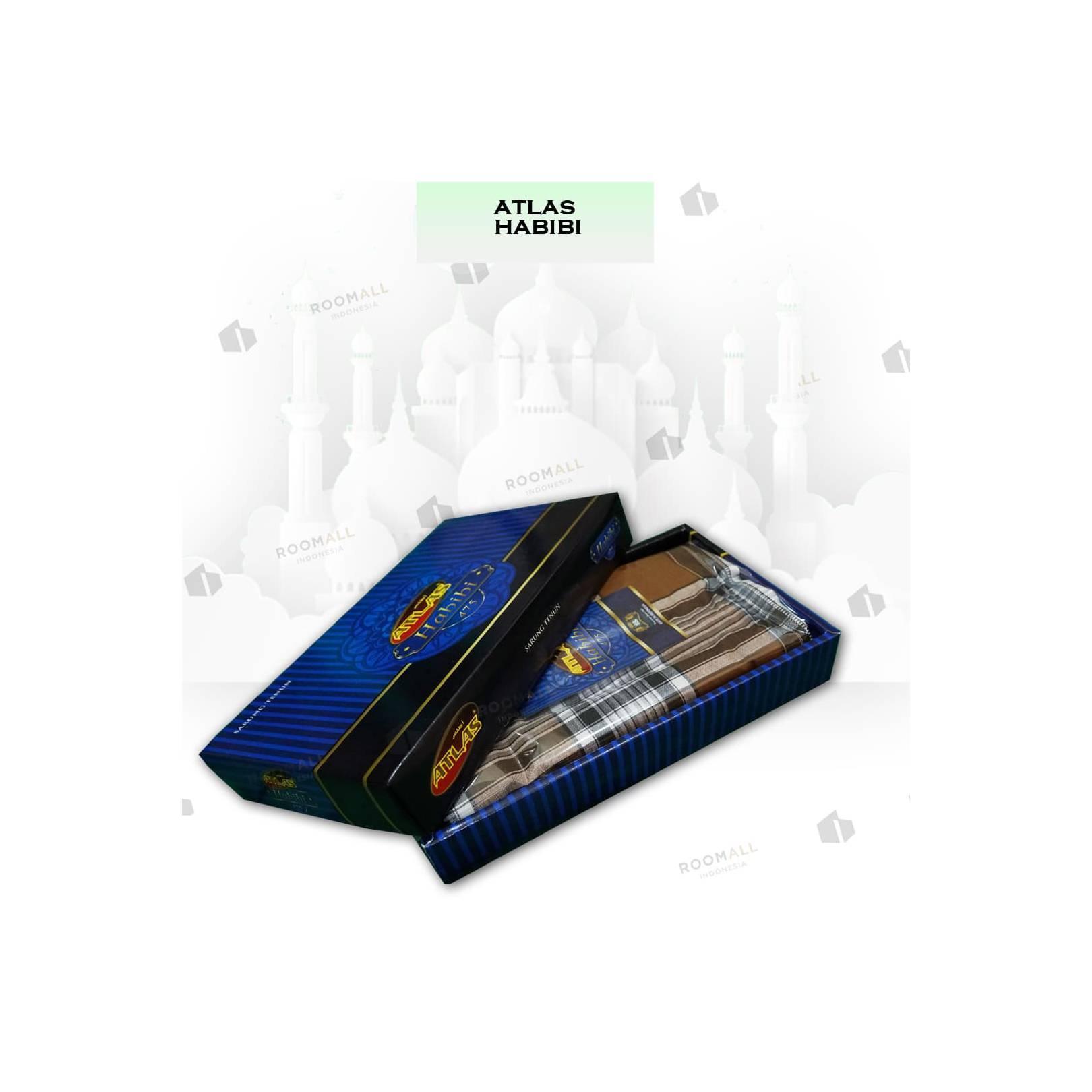 Grosir 10 pcs - Sarung Atlas Habibi