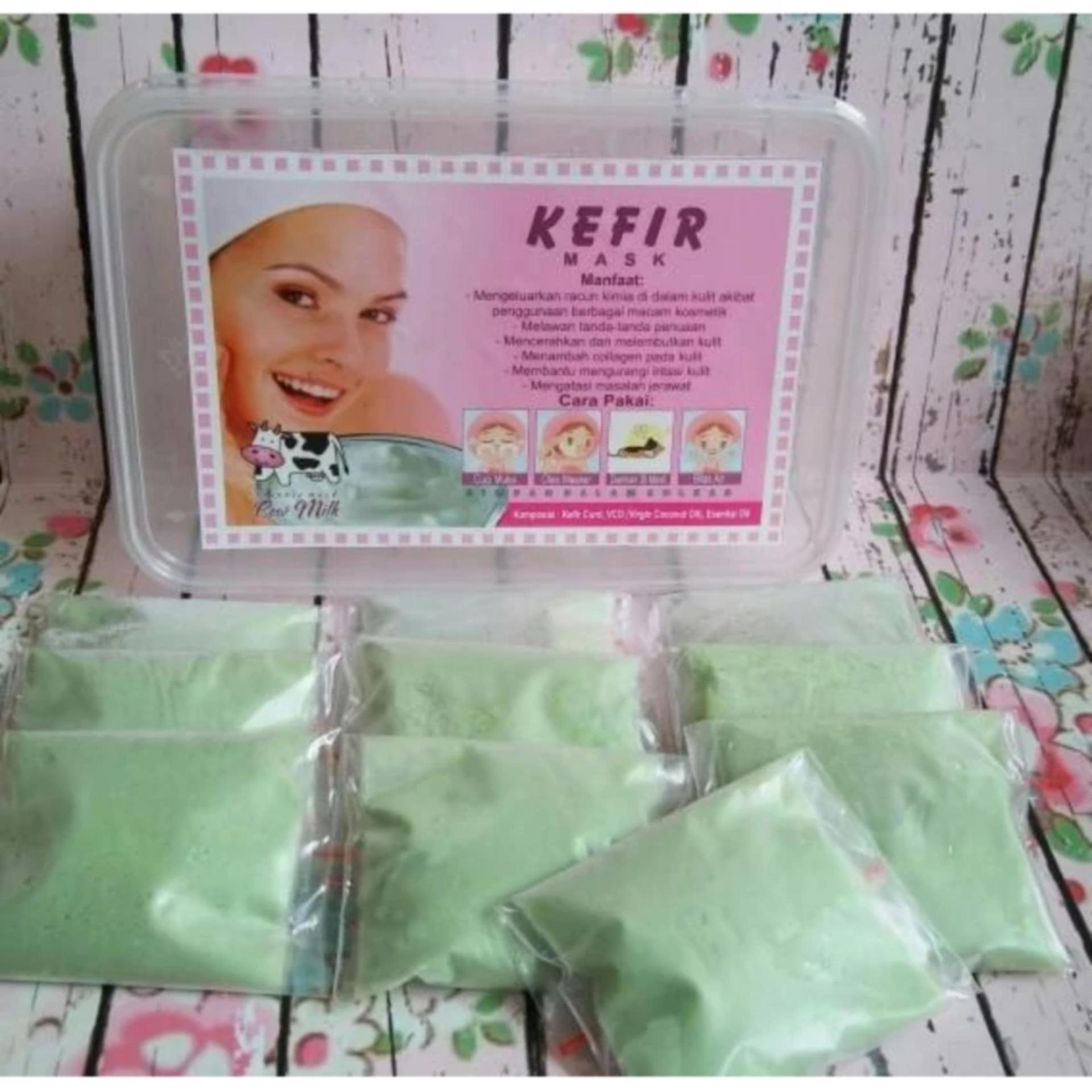 Masker Kefir Green Tea - Isi 10 Sachet