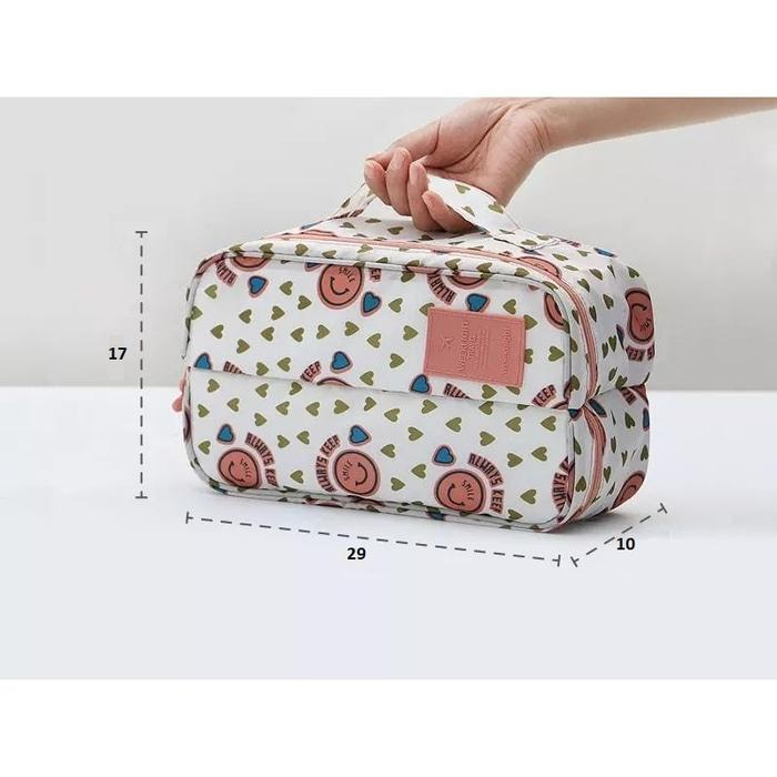 BEST SELLER!!! batik Pattern Underware Divided Pouch / Tas Serbaguna / Organizer - 9cSn8s