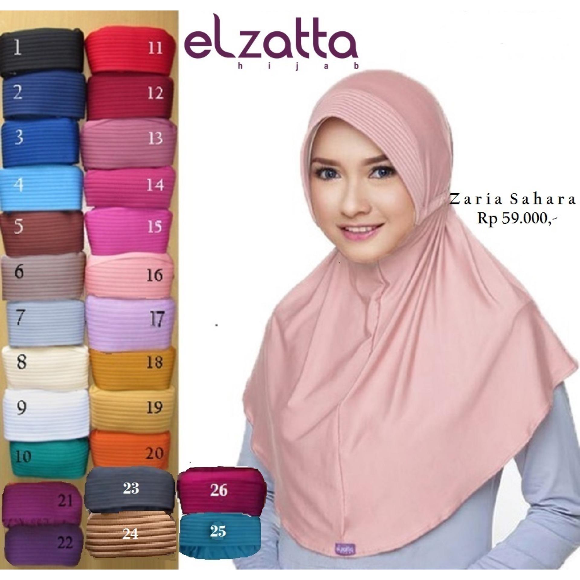 Jual Aneka Produk Hijab Elzatta Terlaris Lazada Co Id