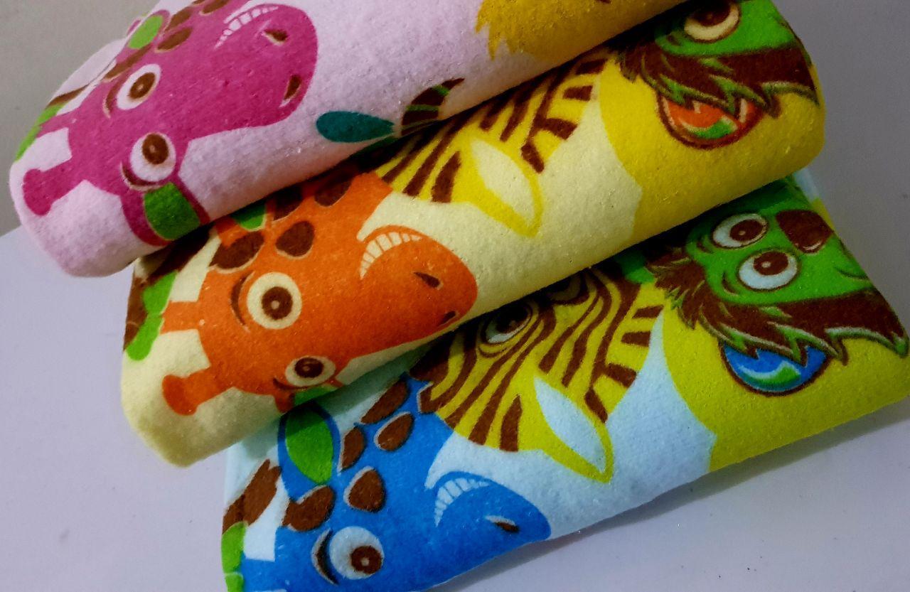 Buy Sell Cheapest Handuk Bayi Lembut Best Quality Product Deals Motif Print 60x110 Cm Halus