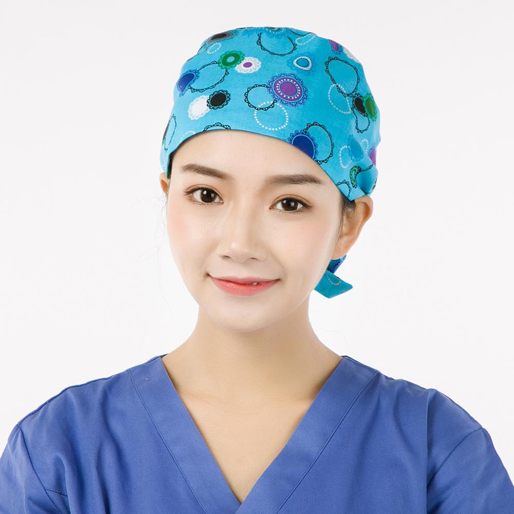 Harga m topi ruang operasi topi eropa atau amerika serikat katun dokter cermin sulap romantis 01