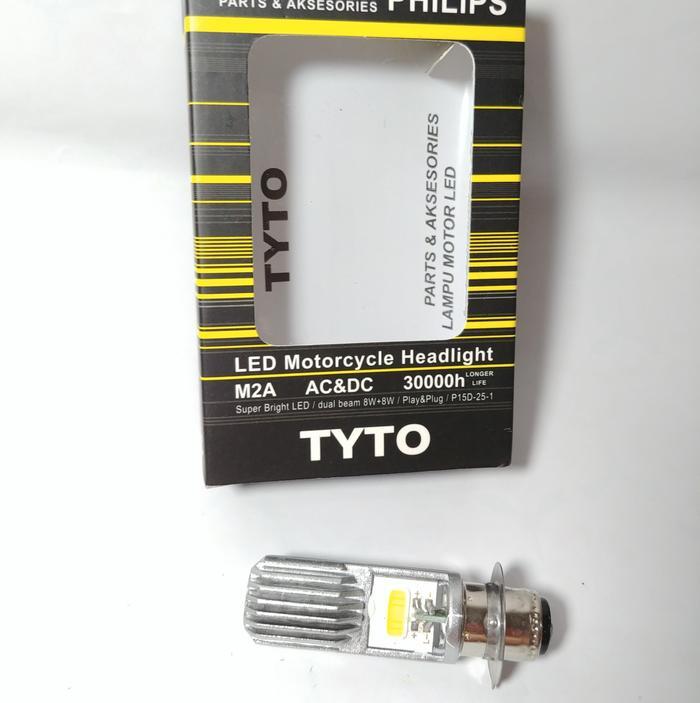 Lampu LED Vario 125 Beat Fi Mio Soul Philips H6 TYTO