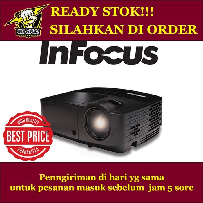 PROJECTOR INFOCUS IN112X - 3200ANSI - SVGA - HDMI - 3D READY