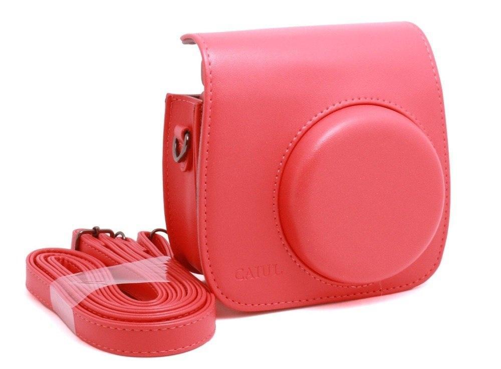 Fujifilm Kamera Instax Mini 9 Leather Bag - Tas - Case