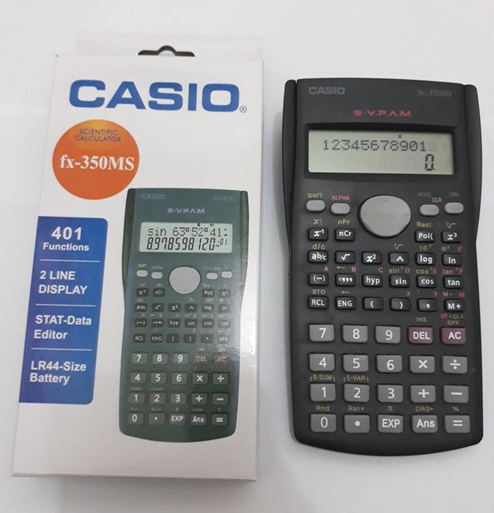 KALKULATOR SCIENTIFIC CASIO FX 350 MS - KALKULATOR SCIENTIFIC TER MURAH di lapak Mr Electro ID mrelectroid