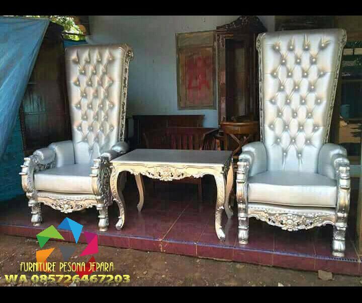 Kursi sofa set ukir, Sofa set meja. PESONA JEPARA 77