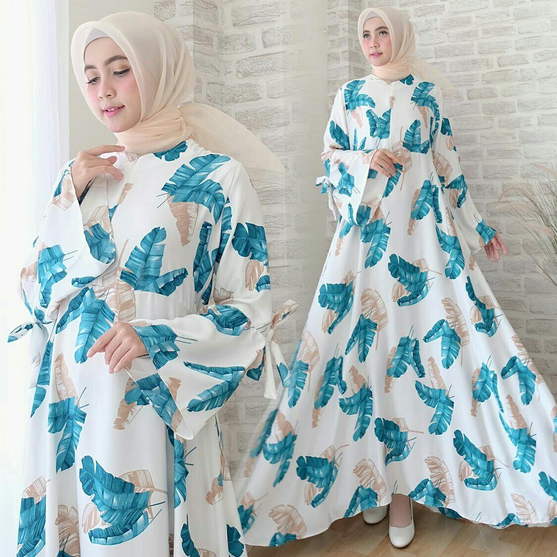 Baju Muslim Wanita / Longdress Jumbo XXL / Gamis Bigsize / Busui / Maxi Amika