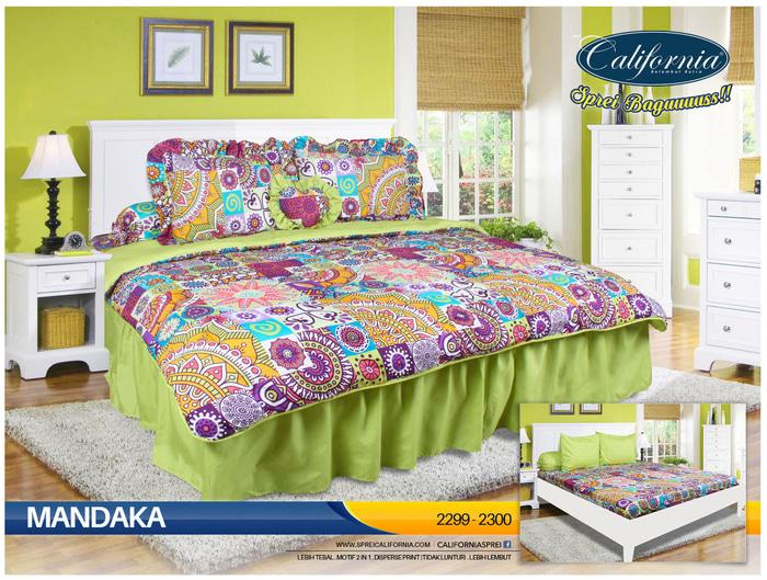 Bedcover California 180 x 200 Mandaka ( King Size ) Exclusive