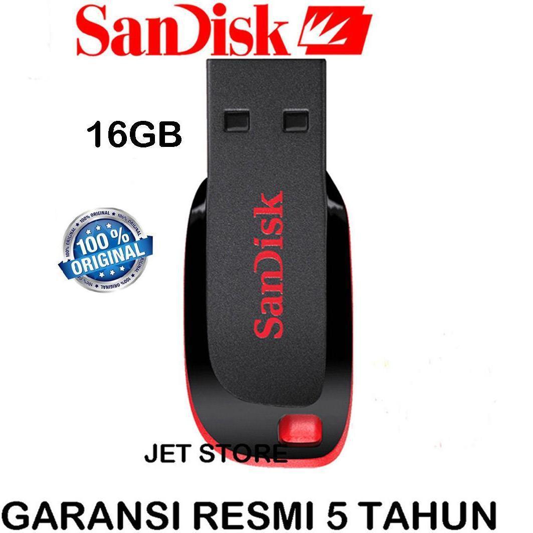 ORIGINAL  SanDisk Flashdisk Cruzer Blade CZ50 - 16GB