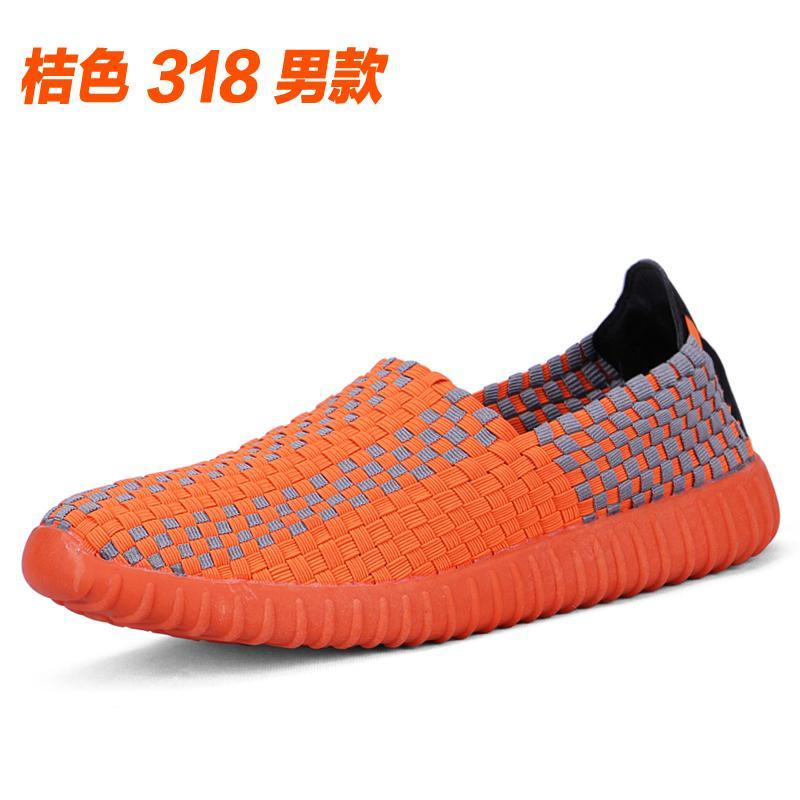 Musim Gugur Bernapas Anyaman Jianbu Sepatu Sepatu Wanita Orang Tua dan  Berusia Setengah Baya Casual Sepatu 31d2745437