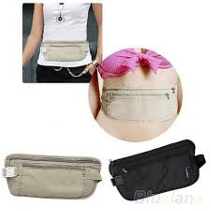 ORIGINAL!!! Dompet pinggang / Tas Pinggang / Travel Waist wallet / Waist Bag - Hv1k1I