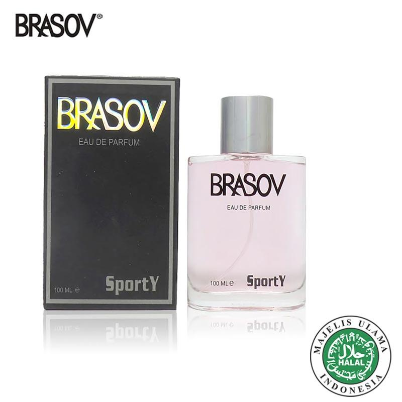 BRASOV Eau De Parfum 100 ML Sporty Black Perfume Fragrance Original Halal  EDP XX-CT ef1c6c9bdc
