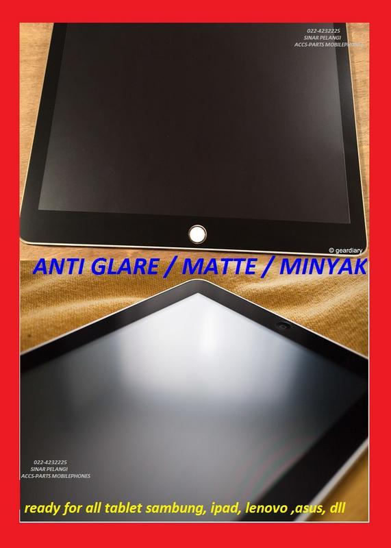 LG K8 K350E K350N K350DS  5 INCH ANTI GORES GLARE MINYAK DOPP SCREEN PROTECTOR LIMITED 905573