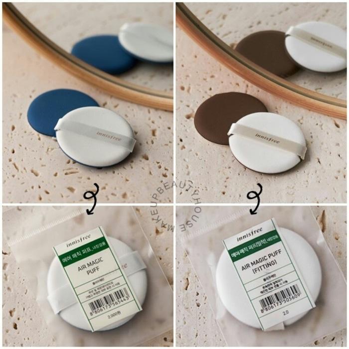 Sale -  INNISFREE Beauty Tool Air Magic Puff (FITTING / GLOW) Import