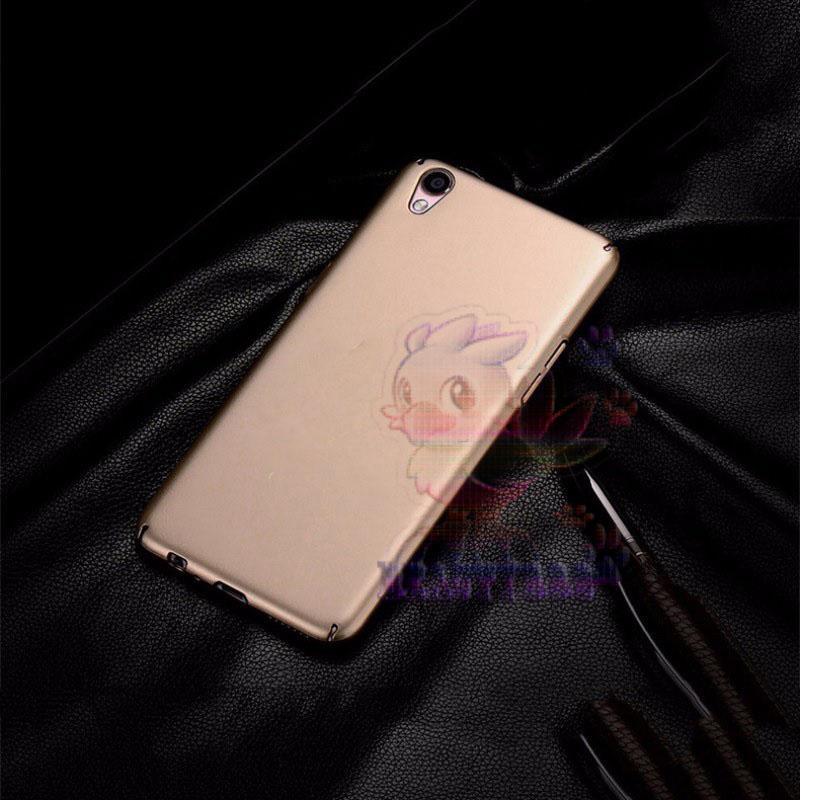 Case Oppo Neo 9 A37 Hard Slim Gold Mate Anti Fingerprint Hybrid Case Baby Skin Oppo A37 Baby Soft L
