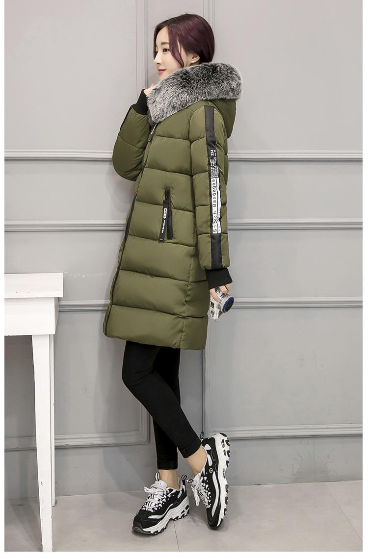 Baju Katun Musim Gugur atau Musim Dingin Baru Roti Ukuran Perempuan Plus (Hitam)