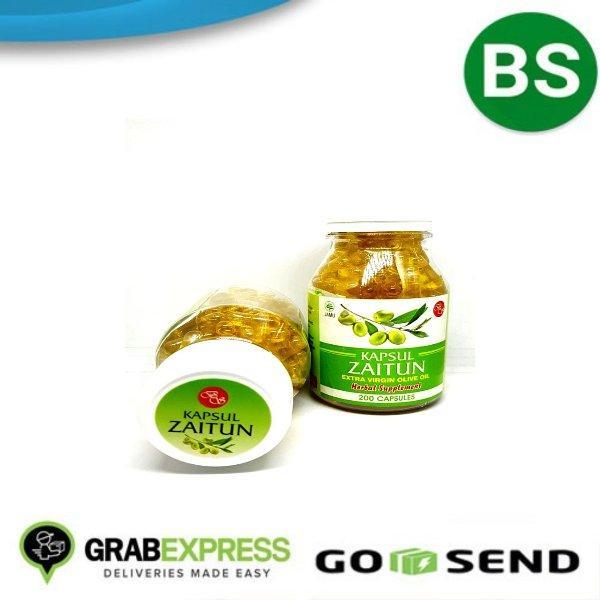 minyak zaitun kapsul extra virgin isi 100 olive oil capsule