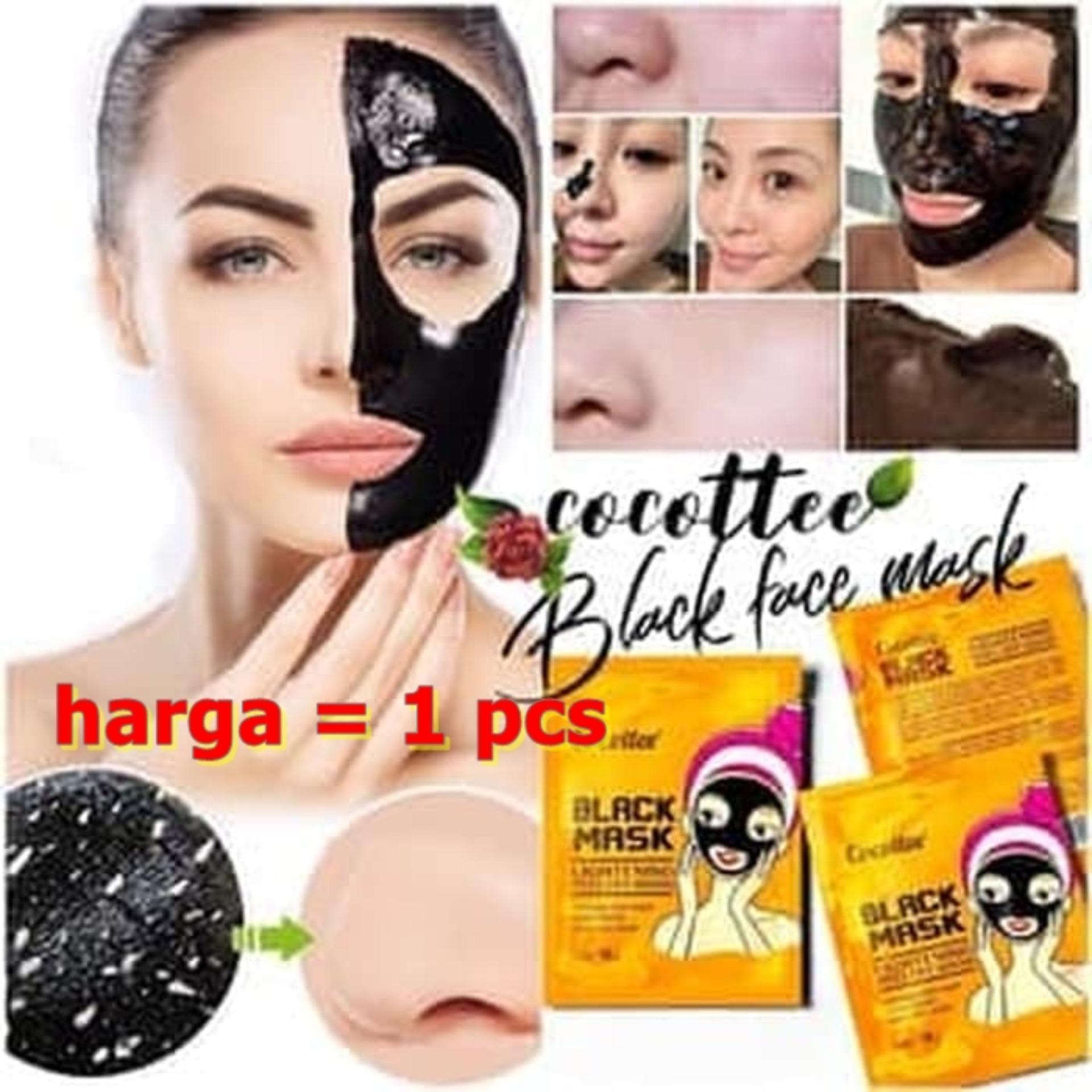 Buy Sell Cheapest Masker Mud Mask Best Quality Product Deals Hanasui 10pcs Lumpur Hitam Naturgo No Box Komedo Shiseido Kpw 158 Cocotee Black Face Brightening Peel Off Wajah