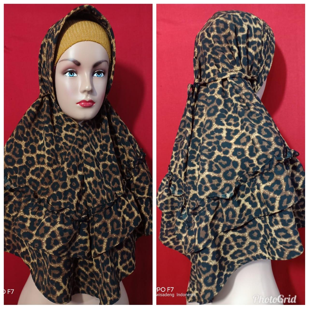 Buy Sell Cheapest Hwshijab Bergo Rempel Best Quality Product Deals Jilbab Licra Macan