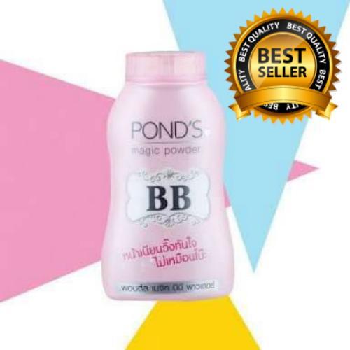 Ponds BB Magic Powder 100% Original Thailand - Bedak Tabur Glossy - FREE MASKER MATA