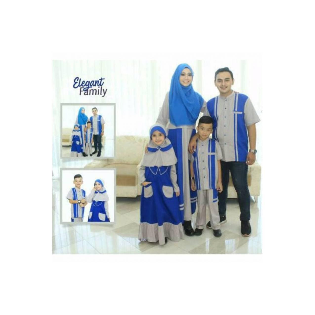 SRE02 Couple branded seragam keluarga terbaru sarimbit muslim baju k