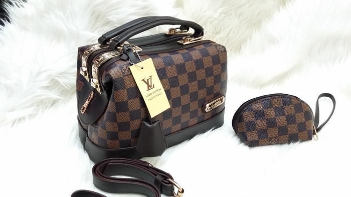 ORIGINAL!!! Tas wanita hand bag Louis Vuitton Doctor - Monogram - YiSXAR