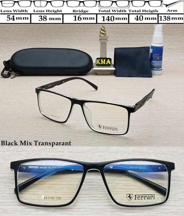 Frame kacamata minus FERRARI RACE frame FERRARI sport frame kotak new