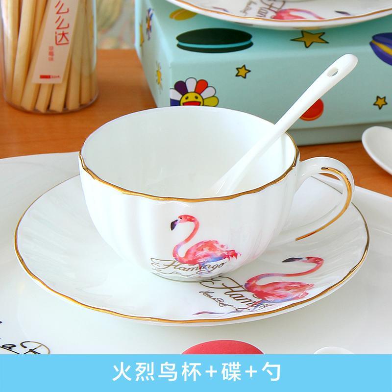 Pinlaiyun Cangkir Kopi Bergaya Eropa Cangkir Teh Porselin Tea Time Keramik