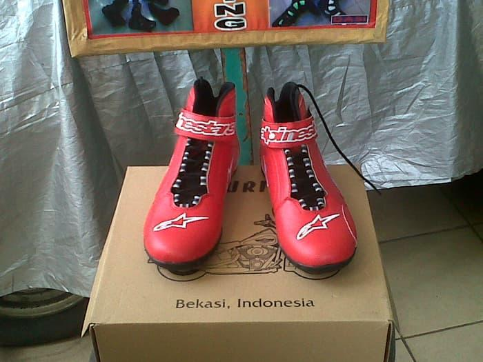 Sepatu alpinestar Warna Merah Full