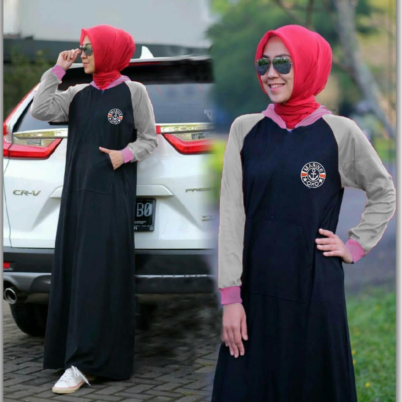 Milea Secret's - Dress Long Agata - Long Dress Wanita