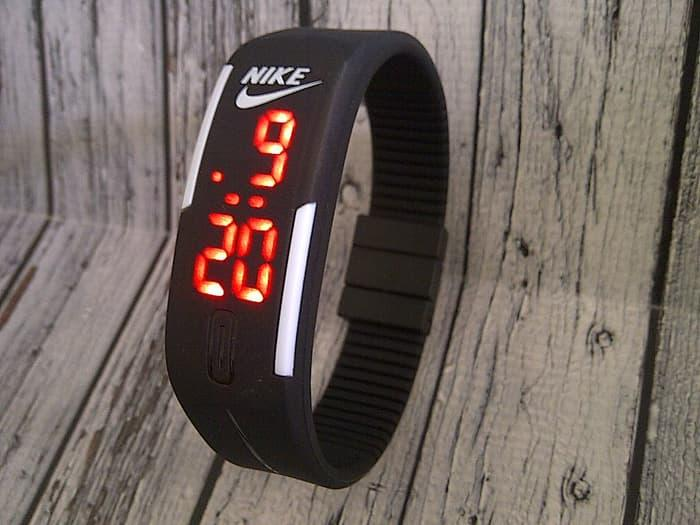 Terfavorit NIKE GELANG LED BLACK Terlaris