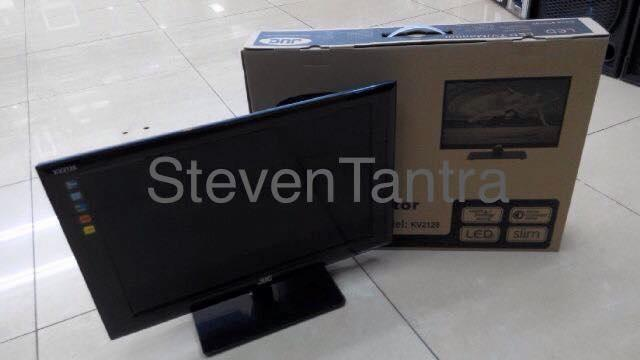LED TV JUC 21inch KV2128 ( Slim / Energy Saving / USB / HDMI )