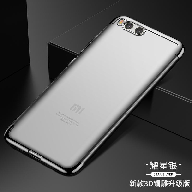 Trendi Casing HP Xiaomi Casing Baru Karakter Silikon Transparan Bungkus Penuh Anti Jatuh Meter Pria